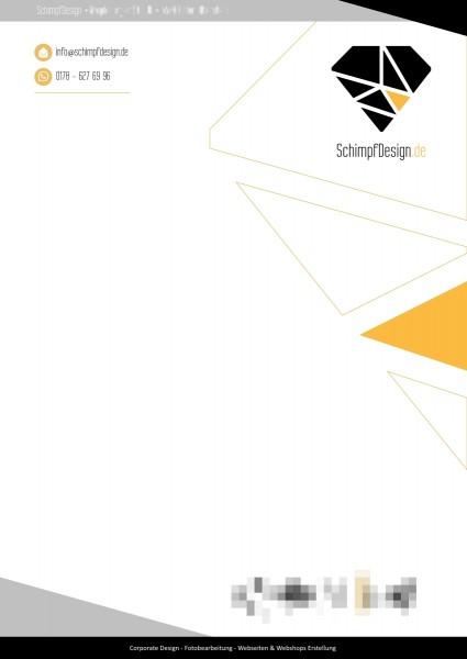 Briefpapier Design Service