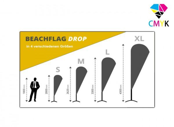Beachflag Drop - Konfigurator