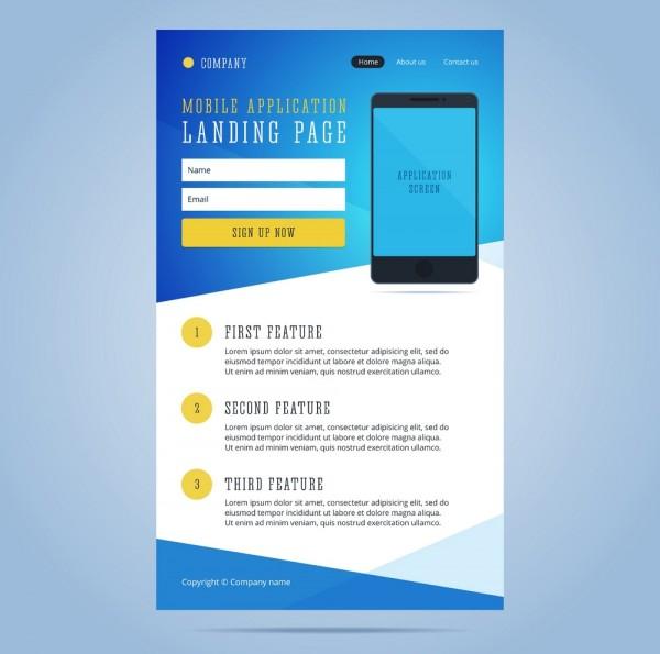Landingpage (Mini-Webseite/ Gewinnspiel)