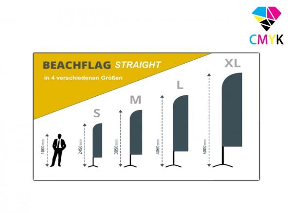 Beachflag Straight - Konfigurator