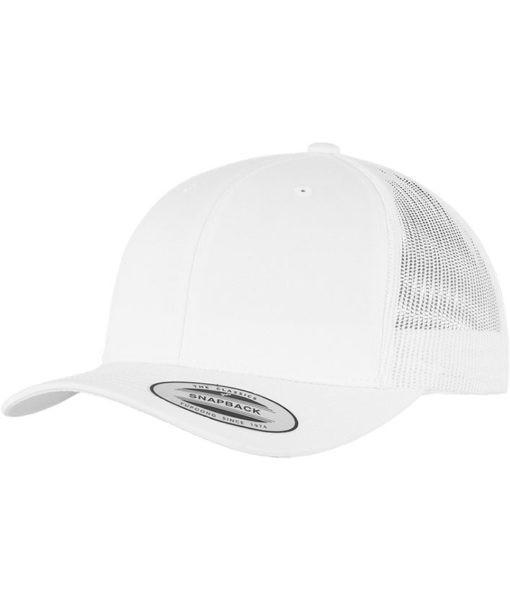 Trucker Cap - Vorderseite mit 2D oder 3D Stick